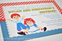 Raggedy Ann and Andy Party