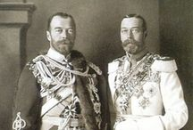 History - Royal Families / The interwoven royal families of Europe.