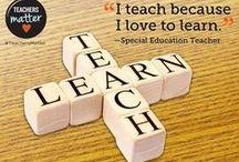 Inspirational and Funny Teaching Quotes / This is a collection of funny and inspiring quotes on the topic of Teaching. Colección de citas inspiradoras y tiras cómicas sobre educación.