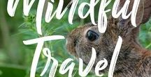 Mindful and Sustainable Travel / Traveling with a conscious