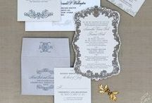 "Ornate Wedding Invitations / Browse through custom, one-of-a-kind, couture wedding invitations all designed by Ceci New York. This board focuses on our ornate invitations, but click on over to our ""Ceci New York Invitations"" board for even more inspiration."