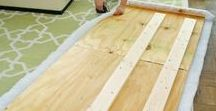 Frugal DIY / Awesome and frugal DIY projects that will make your home beautiful and your life easier. Who says you have to spend a lot of money on nice things? Make them instead.