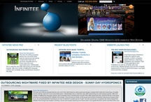 Infinitee Drupal Web Design / Full service Delaware Web design and graphics company Drupal CMS web development Ecommerce shopping carts accepting credit cards, domain name registration & hosting Website management business logos resources search engine optimization Flash PHP XML CSS JavaScript programming.  http://www.infiniteewebdesign.com