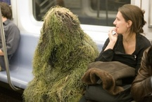 Funny Subway Pics / A collection of odd and funny pictures taken on the subway. / by De Vonee Kaiser