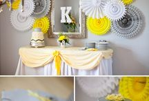 Shower Mom and Baby / Great ideas for boy and girl baby showers