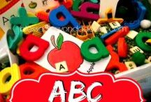 Letters & Numbers / Learning begins with the basic skills of learning the ABCs and the 123s! Check out these great resources and then visit me at www.SheriGraham.com.