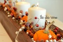 Fall Decorating / I love the cool weather, the leaves falling, and decorating my home for fall! Enjoy these fall decorating ideas and then visit me at www.SheriGraham.com.