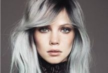 20 Shades of Gray Hair / Gray hair is no longer an unwanted side effect of getting older, but a new fashion trend gaining popularity. Celebrities are inspiring people all around in new styles, and this is no exception. Check out some of the most beautiful and unique gray hairstyles. #PMTSLife #PMTSSpokane http://spokane.paulmitchell.edu/blog/20-shades-of-gray-hair