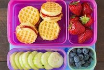 School Lunch Ideas / Do you pack lunches for your kids every day and need some new ideas? Check these out!