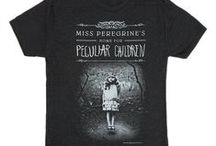 Miss Peregrine's Home for Peculiar Children / Stay Peculiar in our exclusive Miss Peregrine's Home for Peculiar Children by Ransom Riggs book collection. Available in adult tee, tote bag, pouch.
