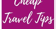 Budget Travel / Budget-friendly travel tips to follow. Travel more. Make travel affordable and use these tips to save money on your next vacation.