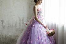 Wedding / ウェディングドレスや式場などの参考資料