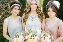 wedding fashion / beautiful and fancy wedding dresses, bridesmaids dresses and accessories. / by Blush Paper Co.