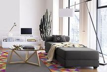 Livingroom/Diningroom / Planning my new big living/diningroom with Myles! Move in Sept 1 2016.