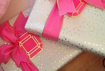 pretty packaging / Gift wrap