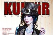 Kultur Magazine / The Ultimate Guide to Alt Models, Fashion, Art and Music from around the world.
