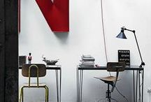 Interior | Creative Corner / Inspiration for my creative space at home.