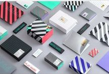 Visual Identity & Branding / Logotypes, Colours, Typography and Shapes. Visual guidelines of small to large brands. Mostly traditional view of what a Visual Identity is.