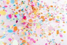 Confetti / Sprinkles, confetti, parties & fun! / by Blush Paper Co.