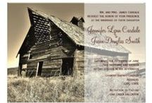 Rustic Country Wedding Invitations / Rustic Country Wedding Invitations that can be customized.  Simply start with these templates and fill in your wedding details.  These are great for country weddings, barn weddings, western themed wedding, and any wedding with a rustic theme. / by OldCountryStore