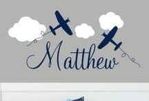 PERSONALIZED CHILDRENS DECALS