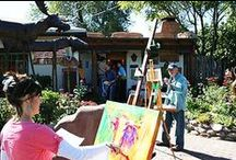 Santa Fe/Taos art colonies / The Matthews Gallery on Canyon Road shows historic works by the founders of the Santa Fe and Taos art colonies, including Emil Bisttram, Fremont Ellis and Harold West. Learn more on our website or at our Santa Fe, New Mexico art gallery.