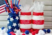 America: Red, White, & Beautiful / by Breanne Morris