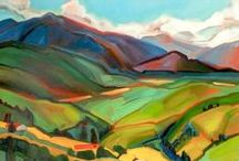 Alice Webb Art / Albuquerque landscape painter Alice Webb has lived in New Mexico for nearly 40 years, and draws inspiration from the grand vistas and vivid colors of the Land of Enchantment. See more of her work at the Matthews Gallery on Canyon Road in Santa Fe, New Mexico: http://d.pr/1DEF