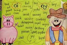 Home school - Language Arts - Primer Pre K Kinder level / by Crystal Brown