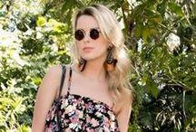- Primavera / A estação das flores encontra a estação das cores. Abuse da temática floral! http://www.paraisofeminino.com.br/vestido-floral