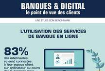 Fintech : digital banking / Le bancaire dans l'univers digital. Banques en ligne, banques traditionnelles et startups bancaires