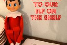 Elf on the Shelf / Oh my!  I can't wait to try this and see the look on my son's face!!