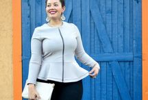 Fashion inspiration / My style and especially clothing for the curvy woman