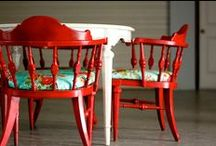 Chairs / by Jacquelyn Kimball