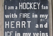 Words for Hockey Fans / Images and infographics featuring great words and quotes for hockey fans to live by.