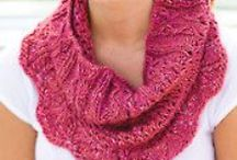 Knit Scarf & Cowl Patterns / by Annie's Catalog