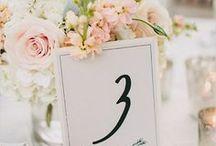 Weddings: Table Decos