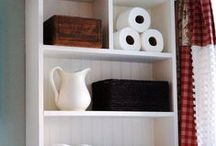 Bathroom Sensibilities / Organization, Storage, Accessories, Cleaning / by Jacquelyn Kimball