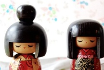 Kokeshi/こけし/ / by Not Just Another Milla