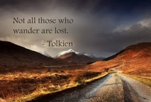 "Tolkien... / ~~~~~~~~~~~~The books, the movies, and all that happens in between.~~~~~~~~~~~~~  ""Not all that glitters is gold, not all those who wander are lost."" / by Katee Ice"