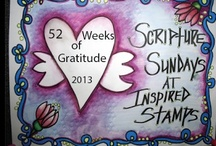 52 Weeks of Gratitude in 2013 with Inspired Stamps