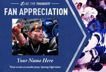 Fan Appreciation Week Contest  / It's a fact that Lightning fans are the best in the NHL. So this week (1/14/13 - 1/18/13) as a thank you we are giving away jerseys and Opening Night tickets to 5 lucky fans! #GladToBeBack