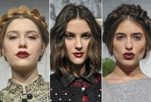 NYFW Fall 2013 / by Vincent + Greer hair studio