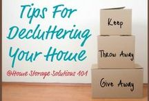 Clutter Control / by Jacquelyn Kimball