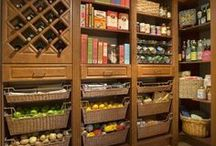 Home Ideas: Pantries & Closets / by Ginia Steward