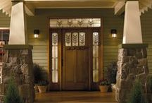 Home Ideas: Entrances, Mud Room and Utilities / by Ginia Steward