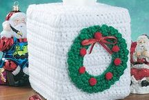 Christmas Crochet Patterns / Christmas crochet patterns for gifts, home decor and more.
