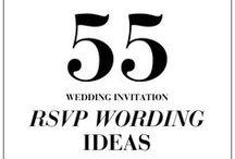 Wedding: Etiquettes & Info