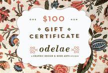 Design: Gifts & Goodie Vouchers