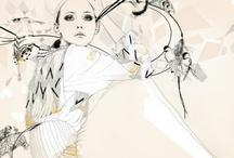 fashion, illustration, pattern / by Helene Ekblom
